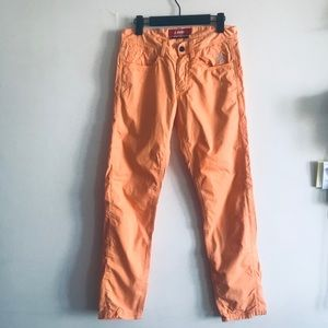 Jaggy Cotton Jean Style Pant